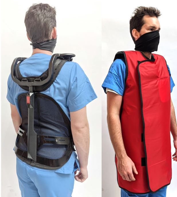 shieldX Load Reducing Exoskeleton for Healthcare Personnel