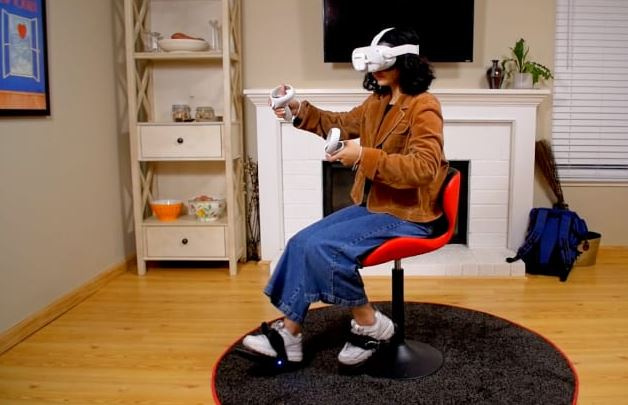 Cybershoes for Oculus Quest VR