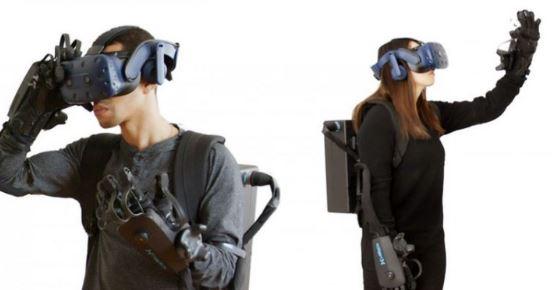 HaptX Gloves DK2 Haptic Gloves for VR & Robots