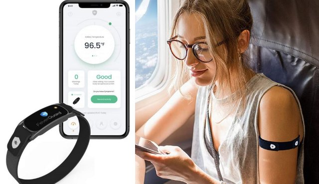 FeverGuard Smart Thermometer Arm Band