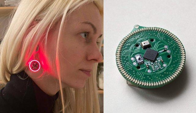 HALO-90 Audio Reactive LED Earrings