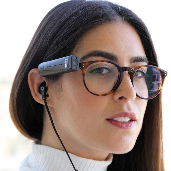 OrCam MyEye Smart: AI Wearable Assistive Reading Device