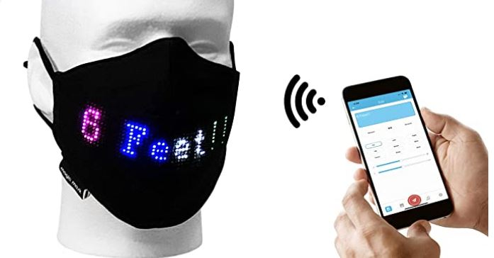 Magic Mask: App Controlled LED Face Mask