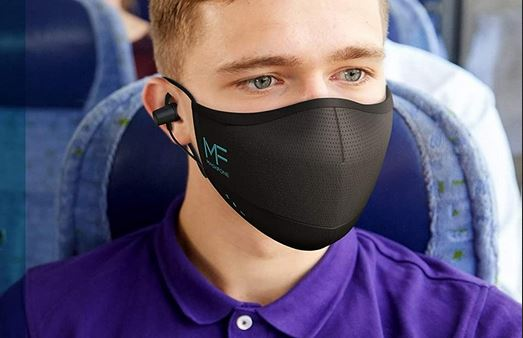 Hubble MaskFone: Smart Face Mask with Headphones & Mic