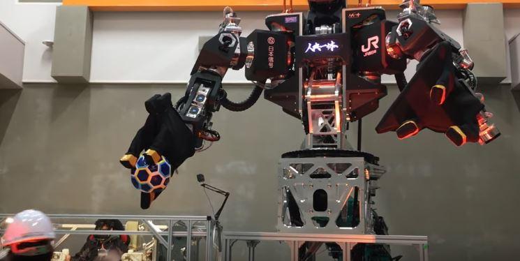 JINKI Type Zero VR Controlled Robot