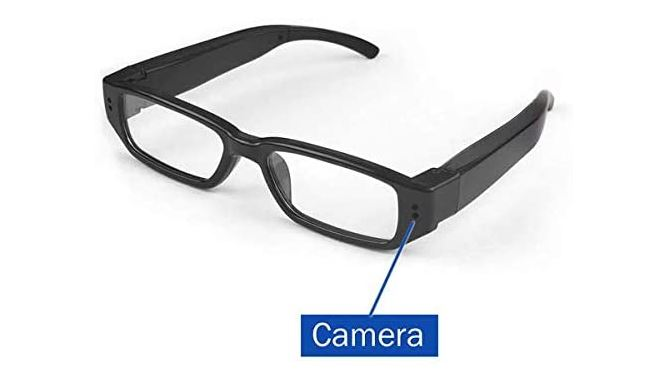 Koel 720p Video Camera Eyeglasses