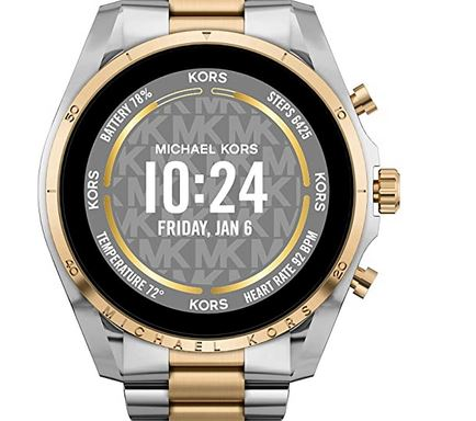 Michael Kors Gen 6 Bradshaw Stainless Steel Smartwatch
